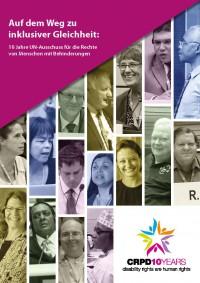 """Titelseite der Broschüre """"Auf dem Weg zu inklusiver Gleichheit"""""""